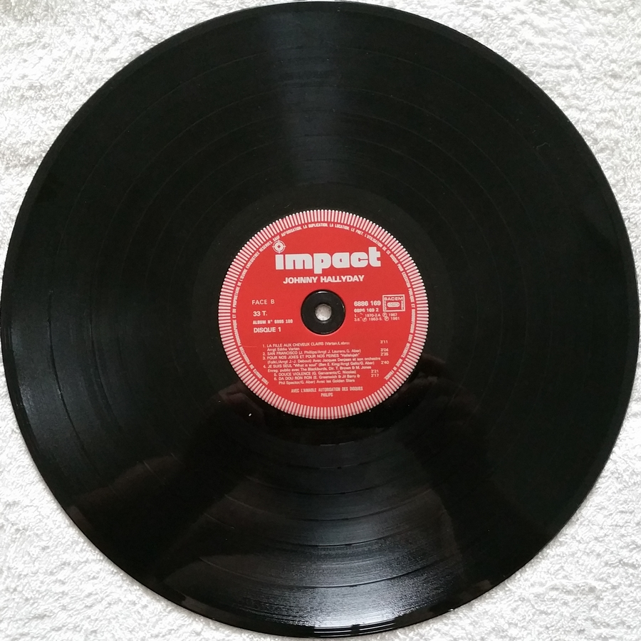 33 TOURS ALBUM 2 DISQUES IMPACT ( Toute les éditions )( 1980-1983 ) 1983_m12