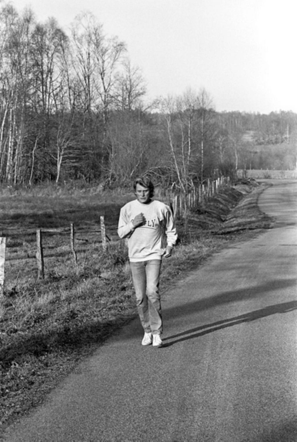 PROPRIETE OU A RESIDE JOHNNY HALLYDAY (8 /10 ) 'VALLIERE, CREUSE' ( 1982-1986 ) 1983_v19