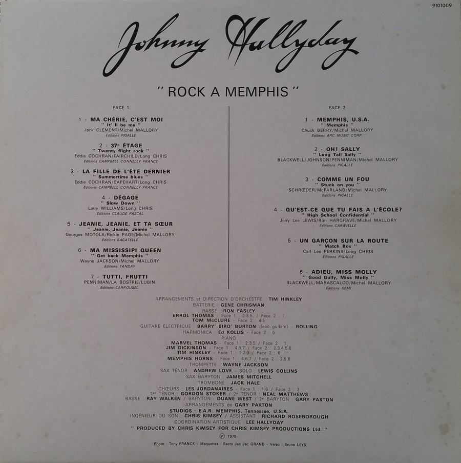 ROCK A MEMPHIS ( 33 TOURS )( TOUTES LES EDITIONS )( 1975 - 2020 ) 1984_219
