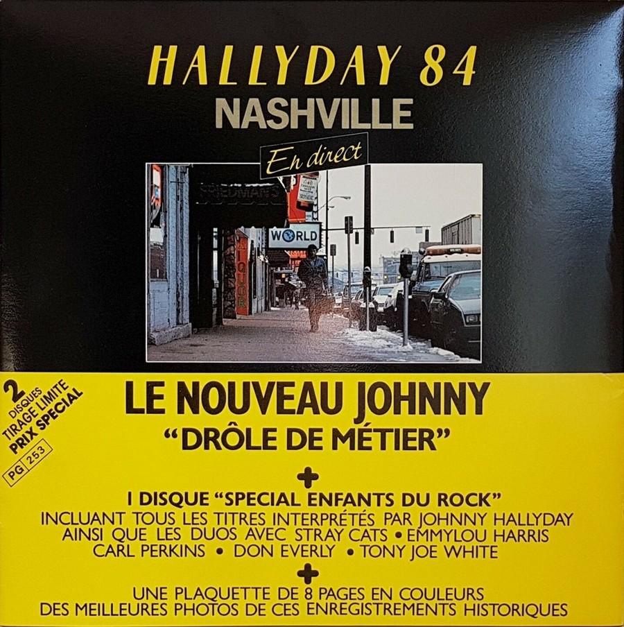 HALLYDAY 84 'NAHSVILLE'  ( 33 TOURS 30CM )( TOUTES LES EDITIONS )( 1984 - 2021 ) 1984_426