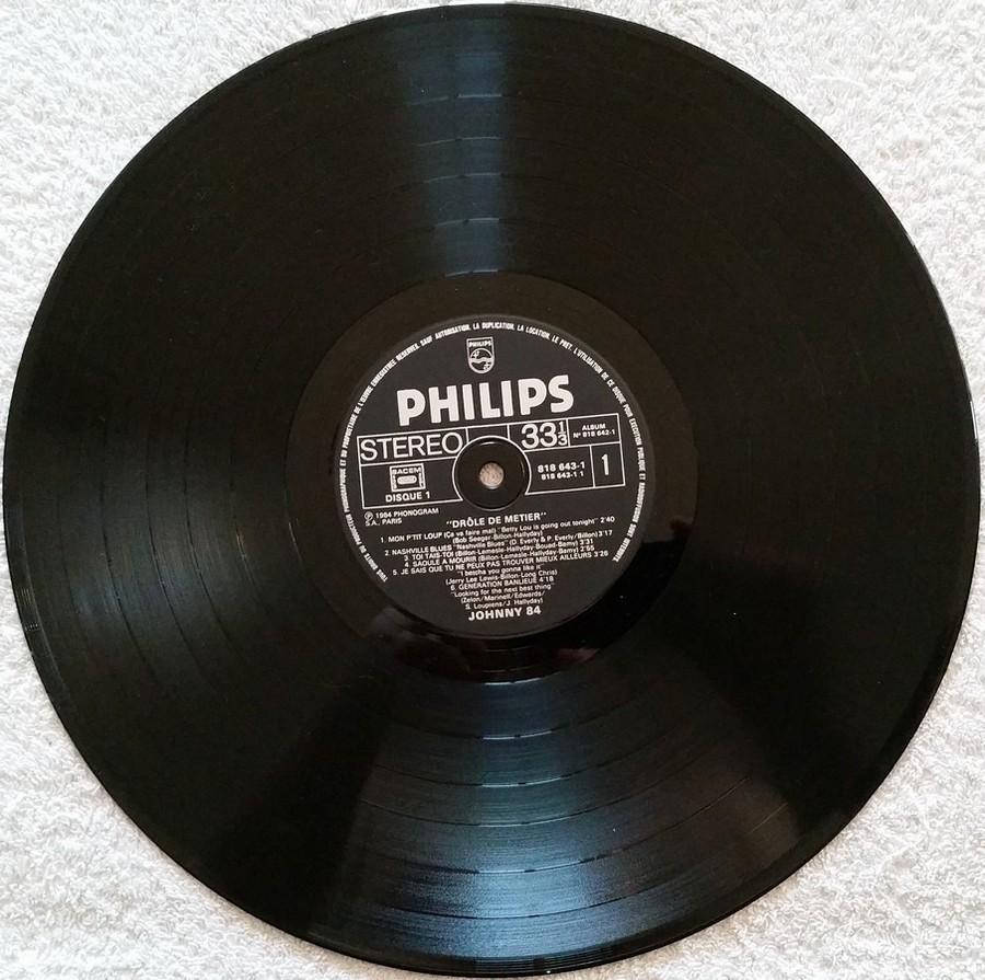 HALLYDAY 84 'NAHSVILLE'  ( 33 TOURS 30CM )( TOUTES LES EDITIONS )( 1984 - 2021 ) 1984_435