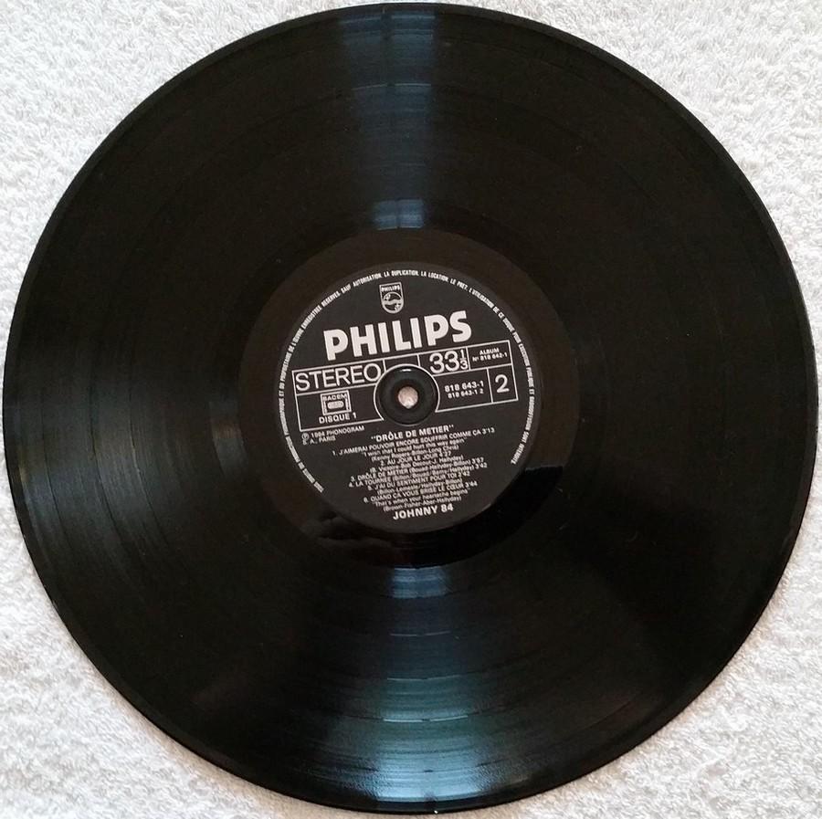 HALLYDAY 84 'NAHSVILLE'  ( 33 TOURS 30CM )( TOUTES LES EDITIONS )( 1984 - 2021 ) 1984_437