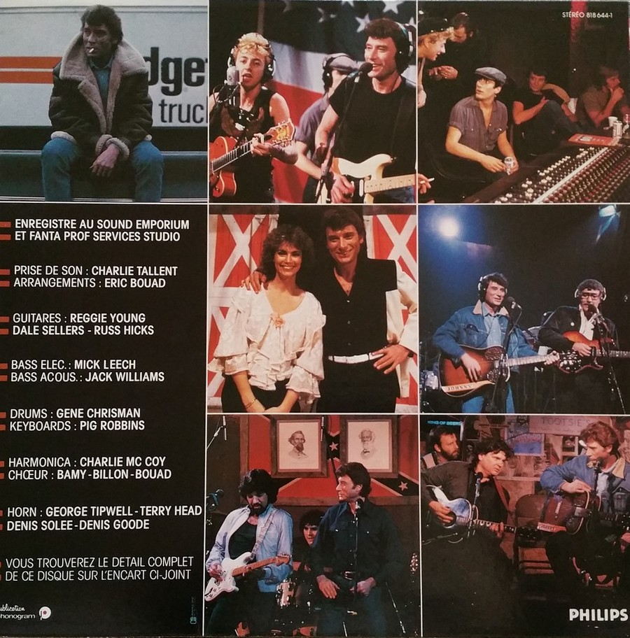 HALLYDAY 84 'NAHSVILLE'  ( 33 TOURS 30CM )( TOUTES LES EDITIONS )( 1984 - 2021 ) 1984_441