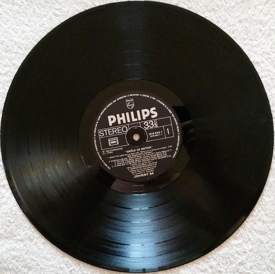 HALLYDAY 84 'NAHSVILLE'  ( 33 TOURS 30CM )( TOUTES LES EDITIONS )( 1984 - 2021 ) 1984_446