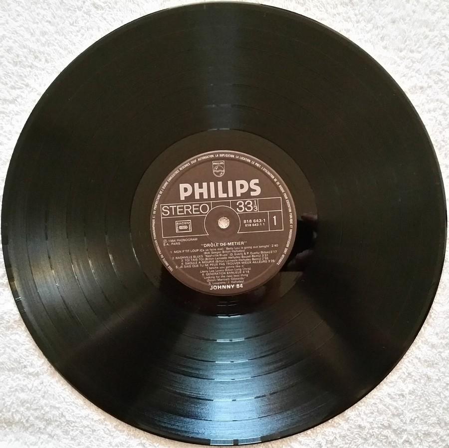 HALLYDAY 84 'NAHSVILLE'  ( 33 TOURS 30CM )( TOUTES LES EDITIONS )( 1984 - 2021 ) 1984_454