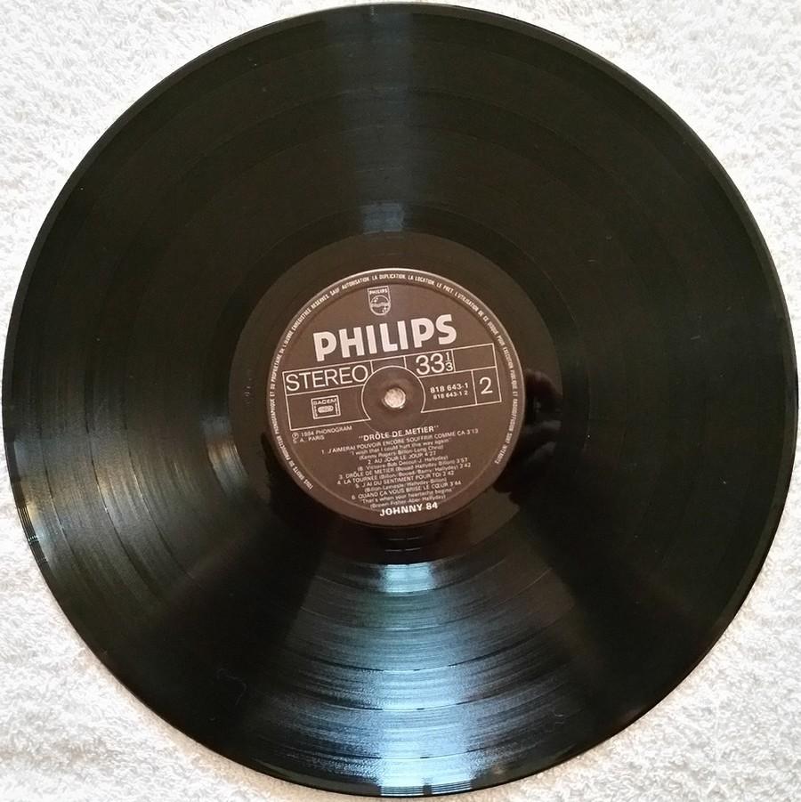 HALLYDAY 84 'NAHSVILLE'  ( 33 TOURS 30CM )( TOUTES LES EDITIONS )( 1984 - 2021 ) 1984_455