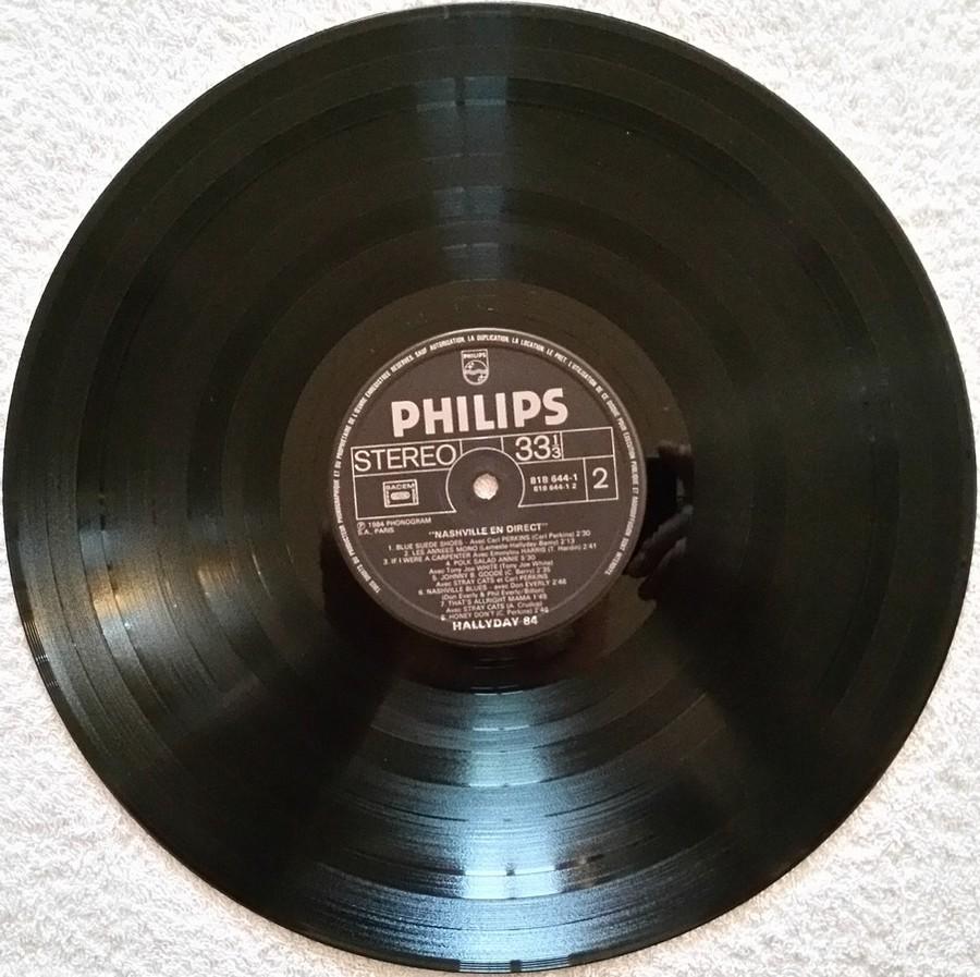 HALLYDAY 84 'NAHSVILLE'  ( 33 TOURS 30CM )( TOUTES LES EDITIONS )( 1984 - 2021 ) 1984_462