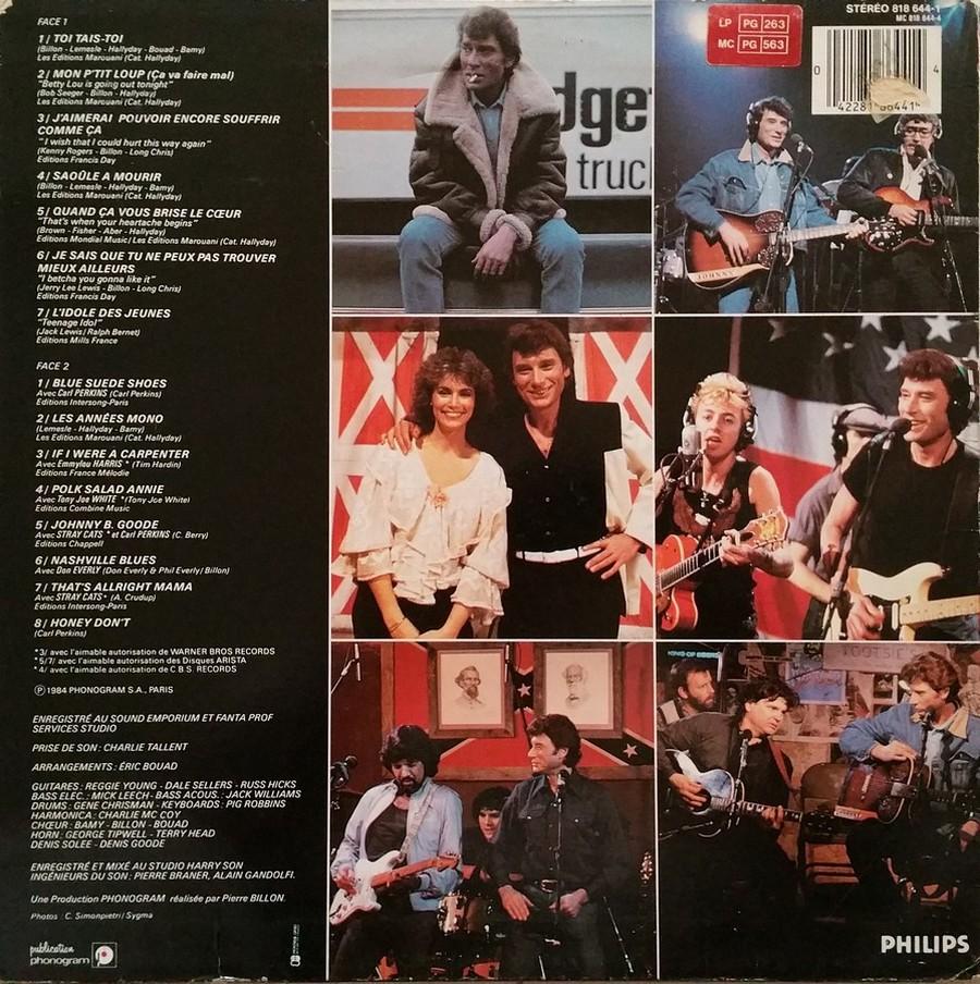 HALLYDAY 84 'NAHSVILLE'  ( 33 TOURS 30CM )( TOUTES LES EDITIONS )( 1984 - 2021 ) 1984_464
