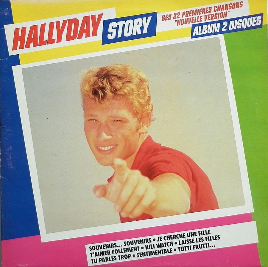 HALLYDAY STORY ( ALBUMS 2 DISQUES )( TOUTES LES EDITIONS )( 1973 - 1988 ) 1984_h29