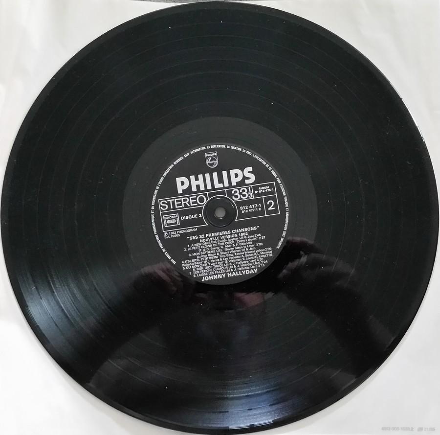 HALLYDAY STORY ( ALBUMS 2 DISQUES )( TOUTES LES EDITIONS )( 1973 - 1988 ) 1984_h31