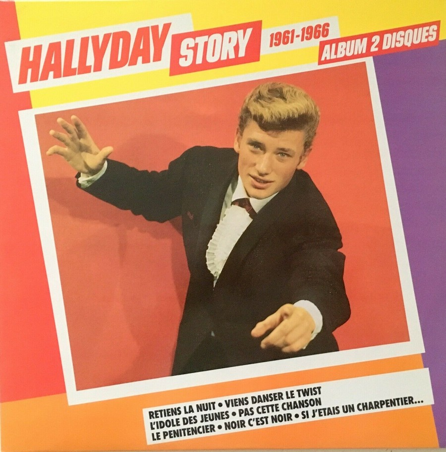 HALLYDAY STORY ( ALBUMS 2 DISQUES )( TOUTES LES EDITIONS )( 1973 - 1988 ) 1984_h38