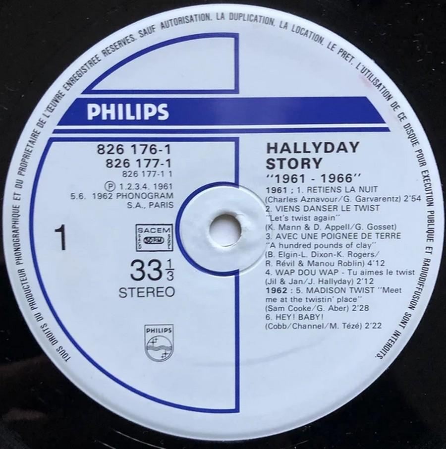 HALLYDAY STORY ( ALBUMS 2 DISQUES )( TOUTES LES EDITIONS )( 1973 - 1988 ) 1984_h40