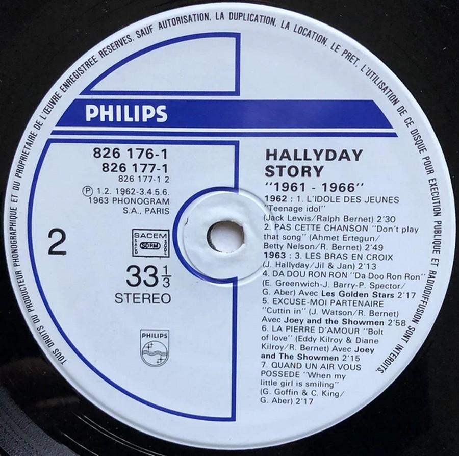 HALLYDAY STORY ( ALBUMS 2 DISQUES )( TOUTES LES EDITIONS )( 1973 - 1988 ) 1984_h41