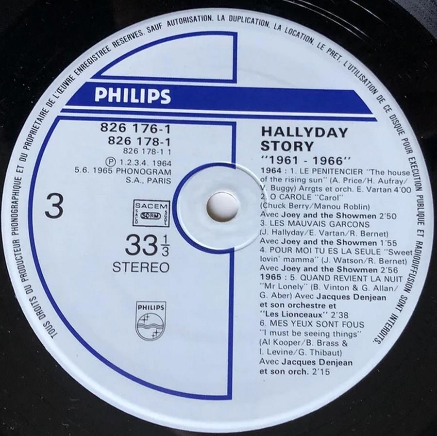 HALLYDAY STORY ( ALBUMS 2 DISQUES )( TOUTES LES EDITIONS )( 1973 - 1988 ) 1984_h42