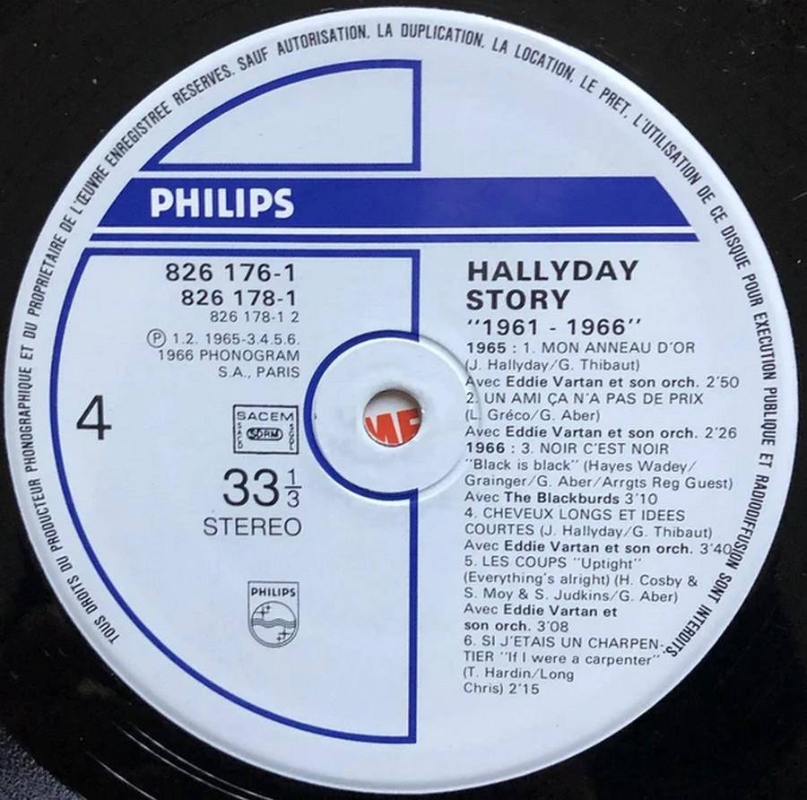 HALLYDAY STORY ( ALBUMS 2 DISQUES )( TOUTES LES EDITIONS )( 1973 - 1988 ) 1984_h43
