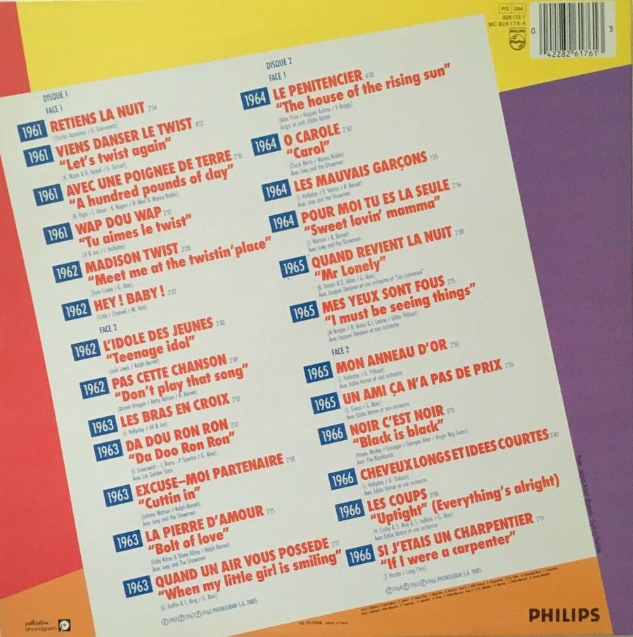 HALLYDAY STORY ( ALBUMS 2 DISQUES )( TOUTES LES EDITIONS )( 1973 - 1988 ) 1984_h45