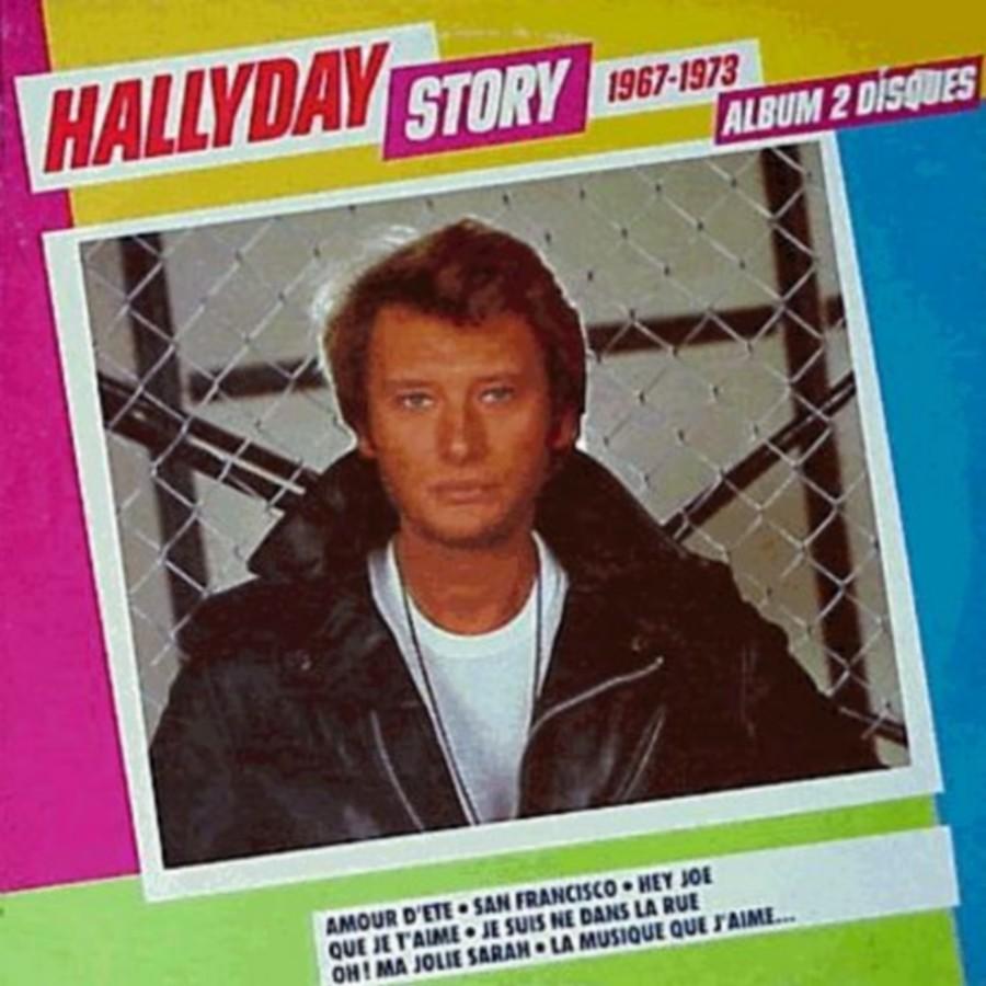 HALLYDAY STORY ( ALBUMS 2 DISQUES )( TOUTES LES EDITIONS )( 1973 - 1988 ) 1984_h46