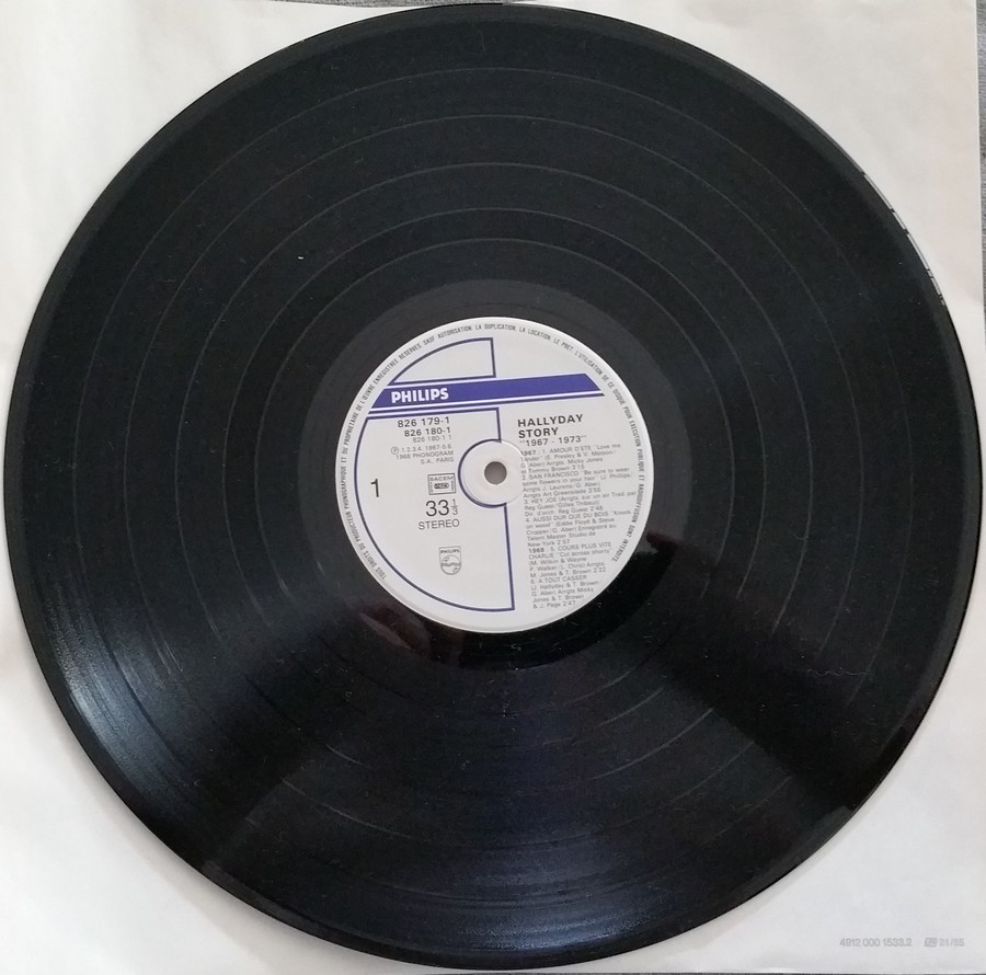 HALLYDAY STORY ( ALBUMS 2 DISQUES )( TOUTES LES EDITIONS )( 1973 - 1988 ) 1984_h48