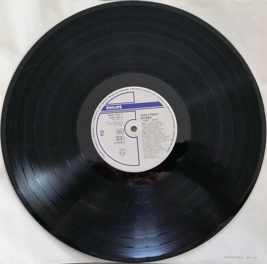 HALLYDAY STORY ( ALBUMS 2 DISQUES )( TOUTES LES EDITIONS )( 1973 - 1988 ) 1984_h49