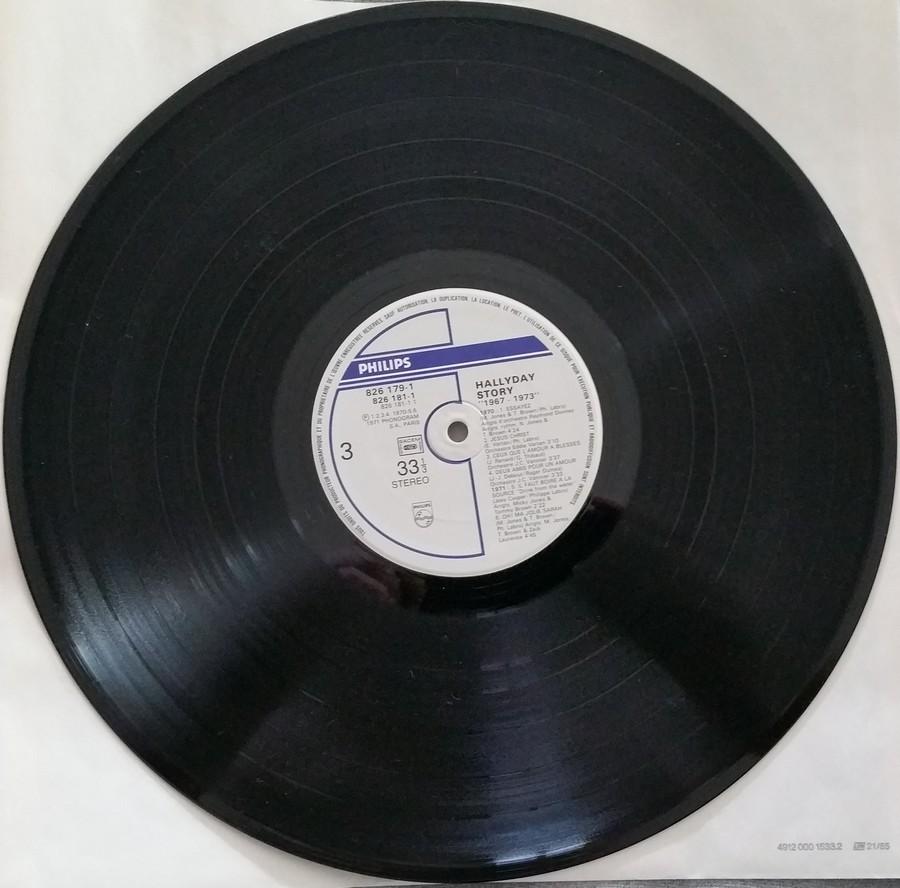 HALLYDAY STORY ( ALBUMS 2 DISQUES )( TOUTES LES EDITIONS )( 1973 - 1988 ) 1984_h50