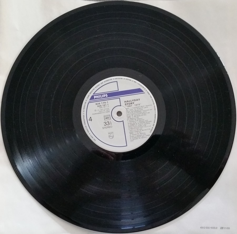 HALLYDAY STORY ( ALBUMS 2 DISQUES )( TOUTES LES EDITIONS )( 1973 - 1988 ) 1984_h51