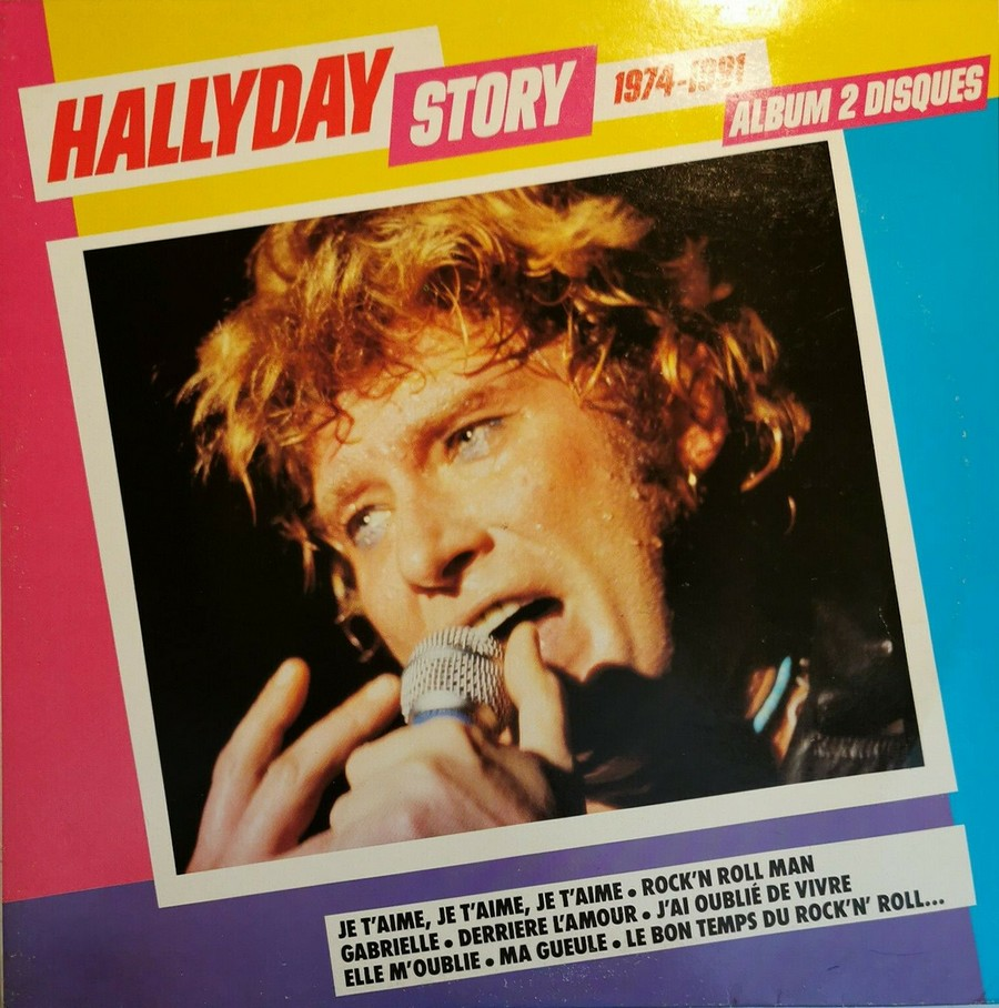 HALLYDAY STORY ( ALBUMS 2 DISQUES )( TOUTES LES EDITIONS )( 1973 - 1988 ) 1984_h55