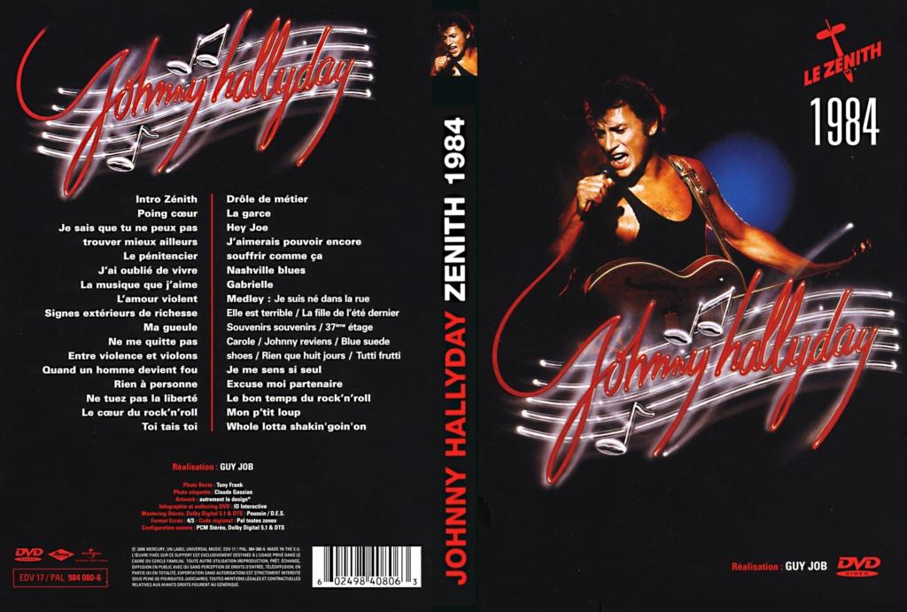JAQUETTE DVD CONCERTS ( Jaquette + Sticker ) 1984_z11