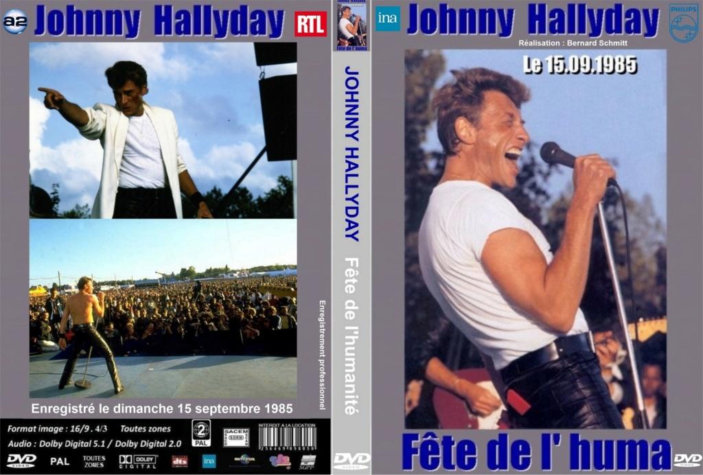 LES CONCERTS DE JOHNNY 'FETE DE L'HUMANITE, LA COURNEUVE 1985' 1985_f12