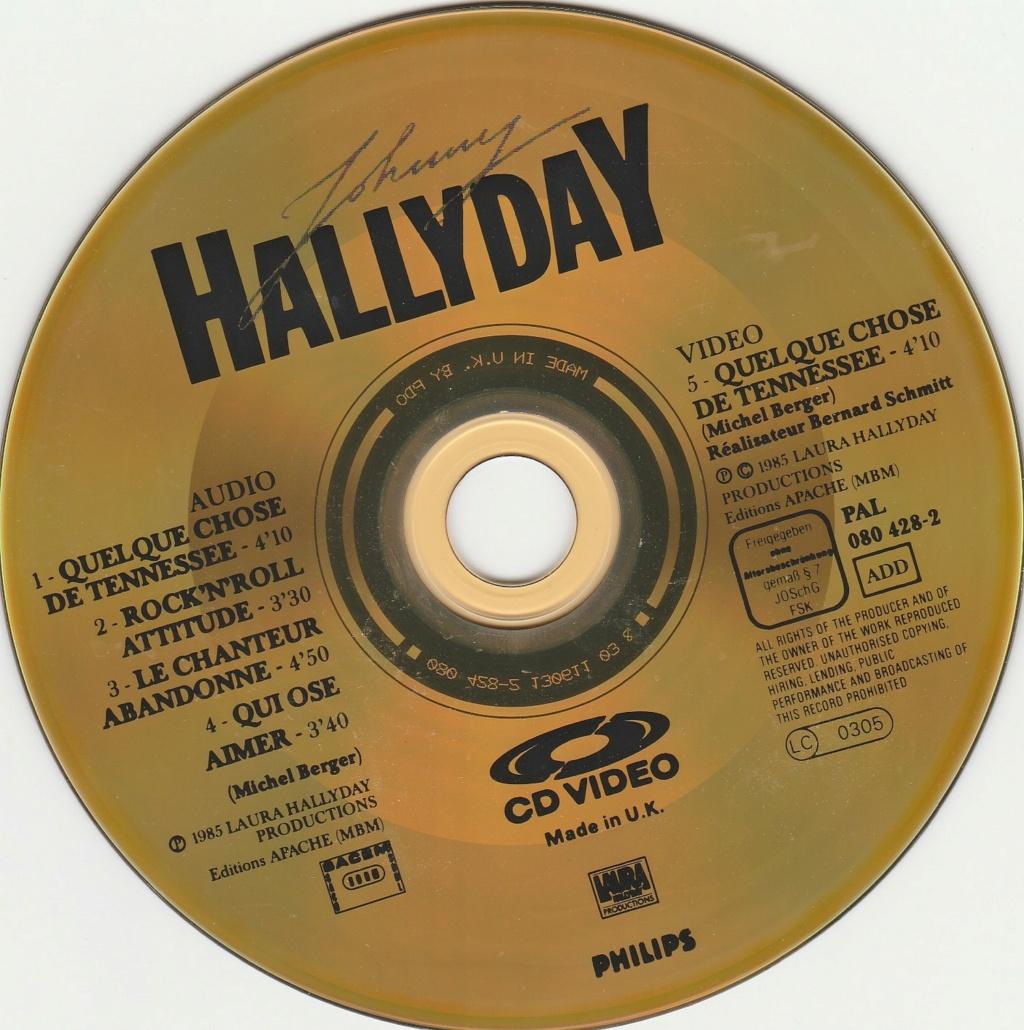 CD VIDEO JOHNNY HALLYDAY ( SERIE DE 5 )( 1985 - 1988 ) 1985_q16