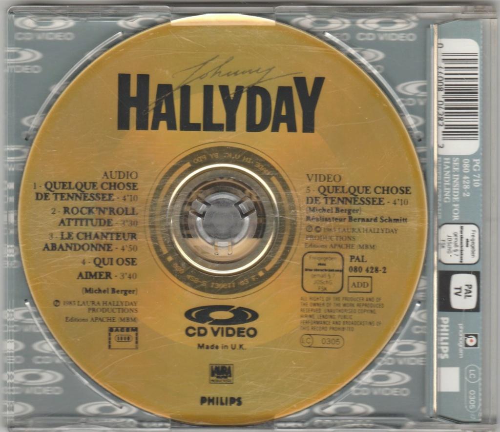 CD VIDEO JOHNNY HALLYDAY ( SERIE DE 5 )( 1985 - 1988 ) 1985_q19