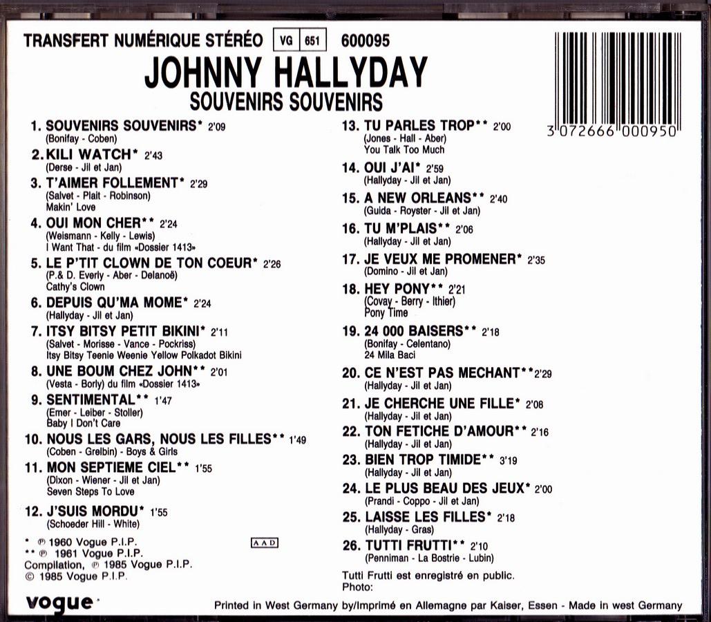 cd  souvenir souvenir822409 2 1985_s33