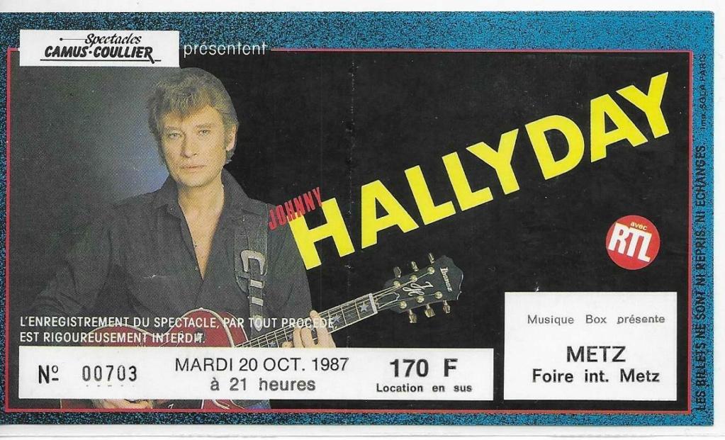 Pour Zorba (billets de concert) 198710