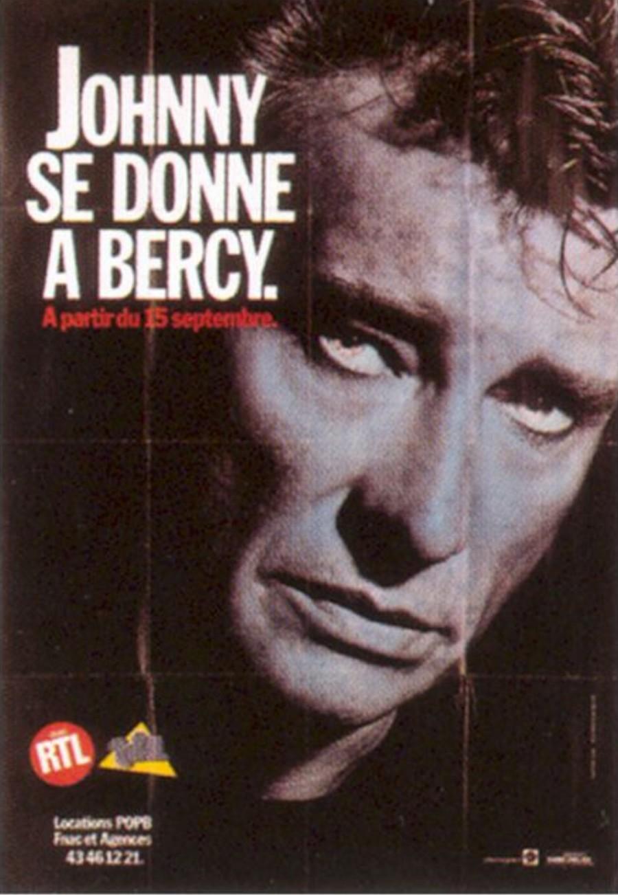 LES CONCERTS DE JOHNNY 'BERCY 1987' 198711