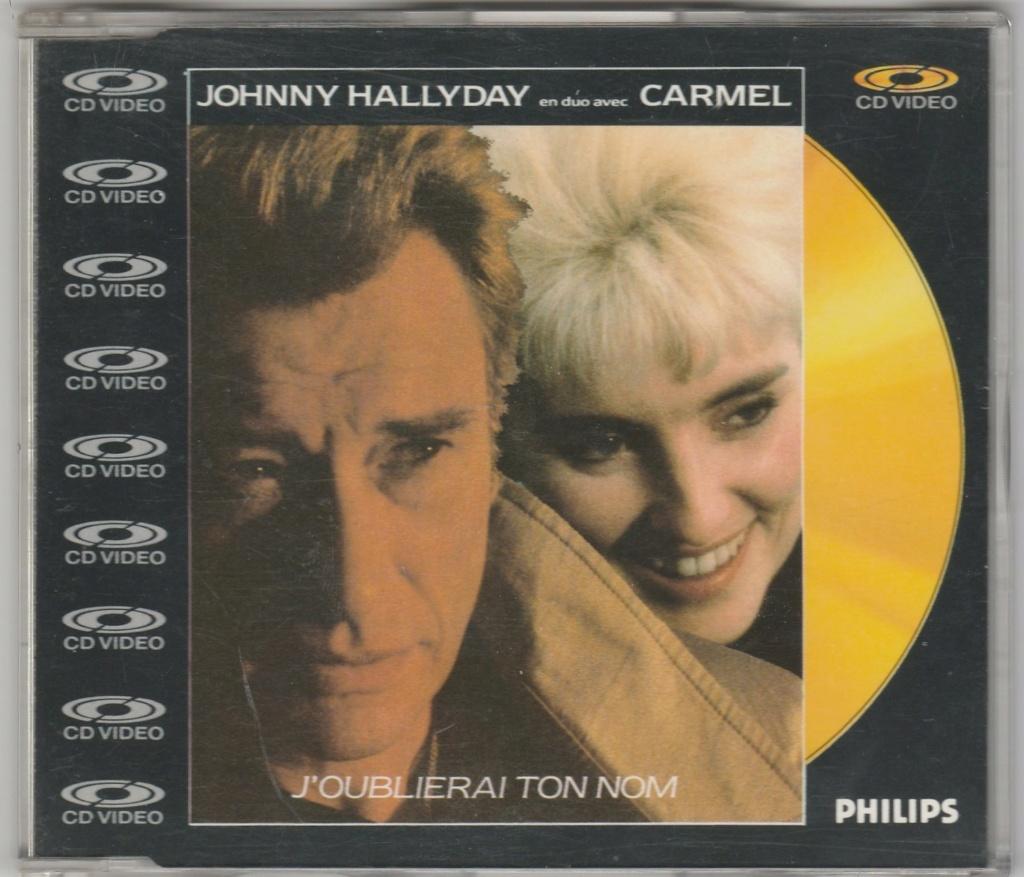 CD VIDEO JOHNNY HALLYDAY ( SERIE DE 5 )( 1985 - 1988 ) 1987_j12
