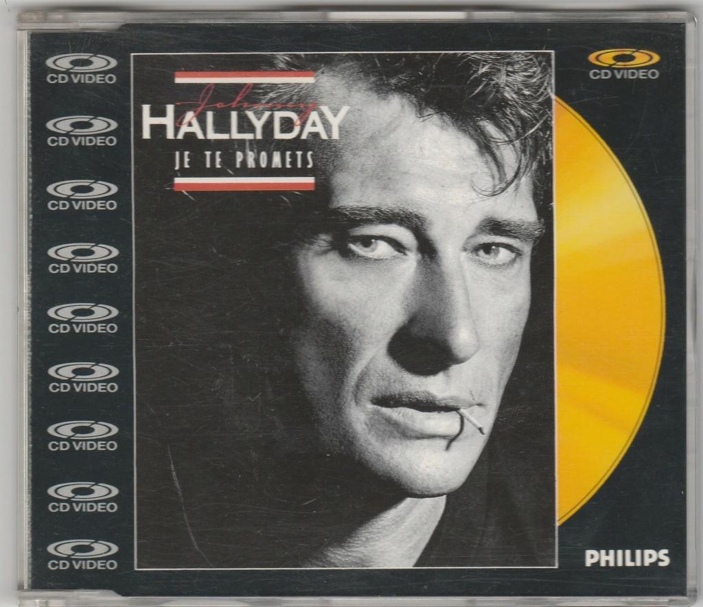 CD VIDEO JOHNNY HALLYDAY ( SERIE DE 5 )( 1985 - 1988 ) 1987_j17