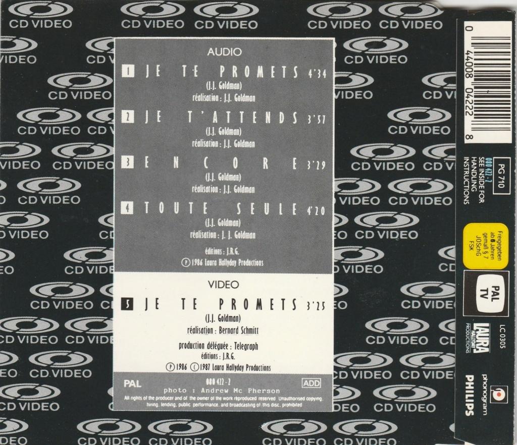 CD VIDEO JOHNNY HALLYDAY ( SERIE DE 5 )( 1985 - 1988 ) 1987_j19