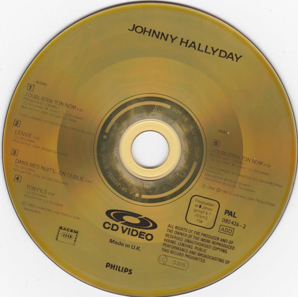 CD VIDEO JOHNNY HALLYDAY ( SERIE DE 5 )( 1985 - 1988 ) 1987_j22