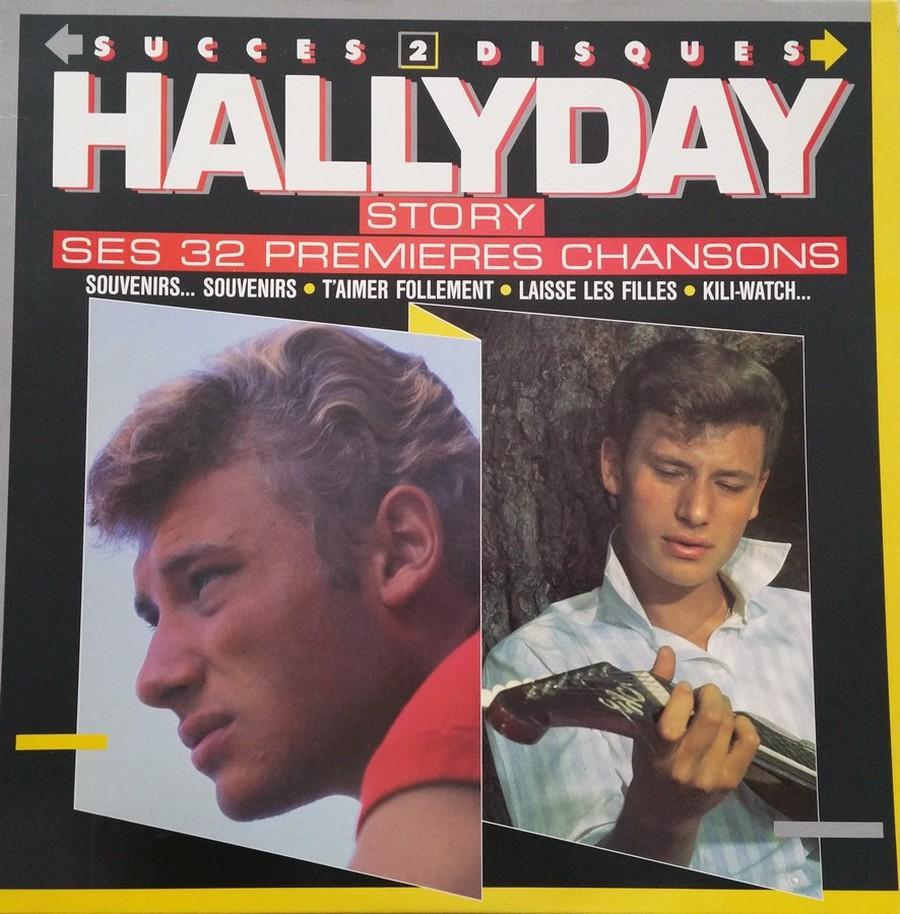 HALLYDAY STORY ( ALBUMS 2 DISQUES )( TOUTES LES EDITIONS )( 1973 - 1988 ) 1988_h17