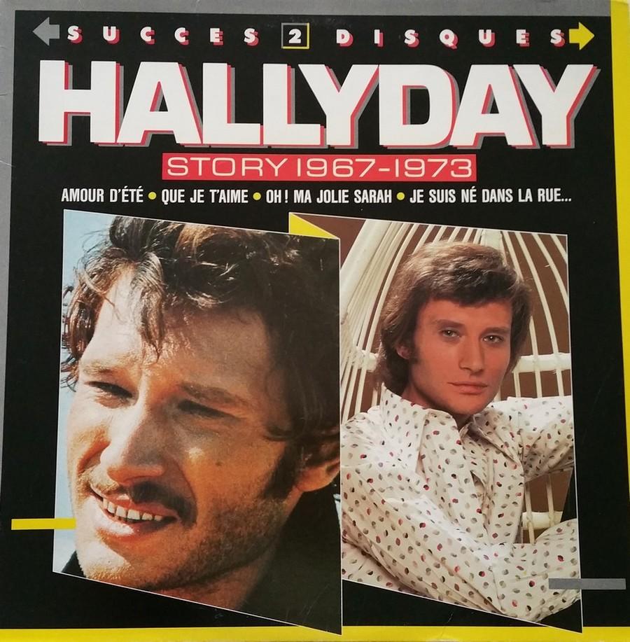 HALLYDAY STORY ( ALBUMS 2 DISQUES )( TOUTES LES EDITIONS )( 1973 - 1988 ) 1988_h30