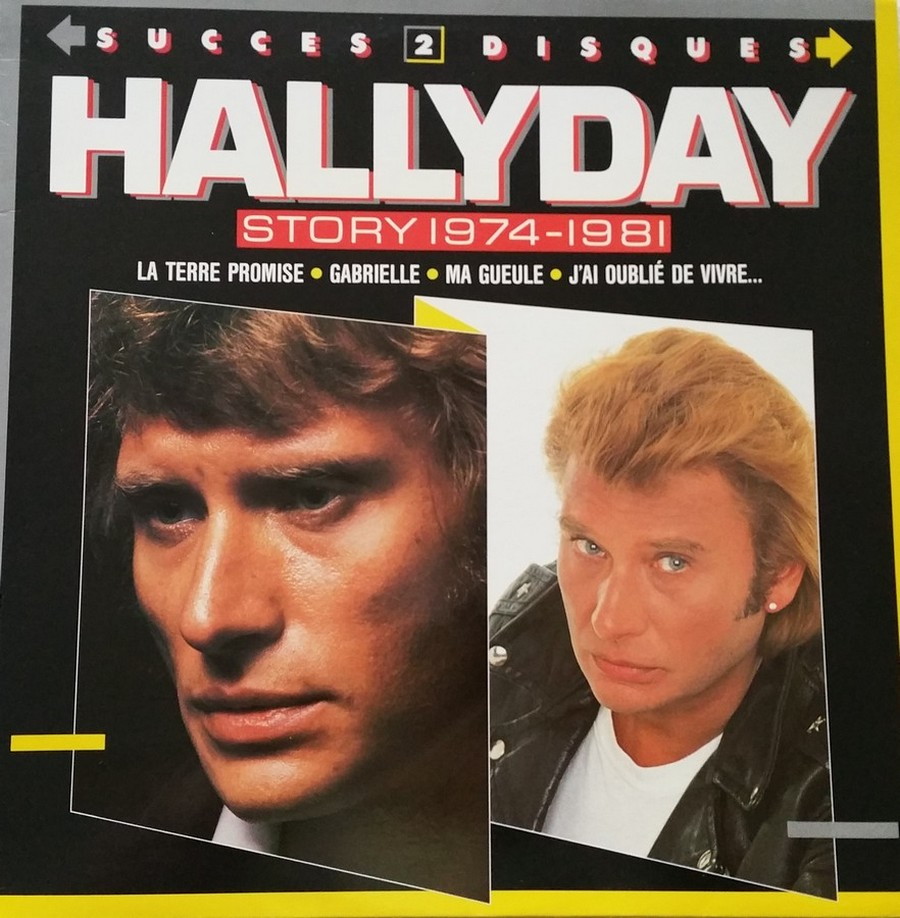HALLYDAY STORY ( ALBUMS 2 DISQUES )( TOUTES LES EDITIONS )( 1973 - 1988 ) 1988_h34