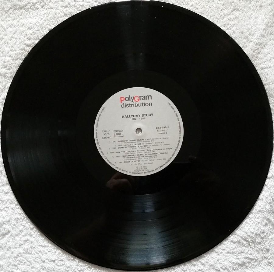 HALLYDAY STORY ( ALBUMS 2 DISQUES )( TOUTES LES EDITIONS )( 1973 - 1988 ) 1988_h43