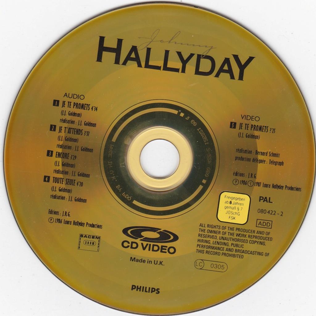 CD VIDEO JOHNNY HALLYDAY ( SERIE DE 5 )( 1985 - 1988 ) 1988_j10