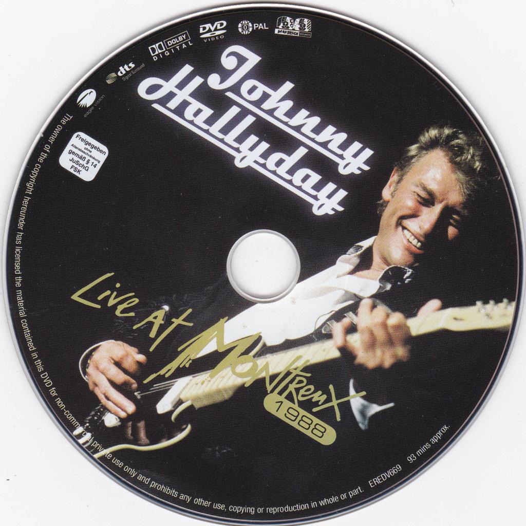 JAQUETTE DVD CONCERTS ( Jaquette + Sticker ) 1988_m10