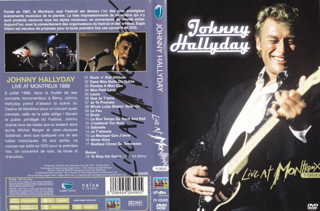 JAQUETTE DVD CONCERTS ( Jaquette + Sticker ) 1988_m11