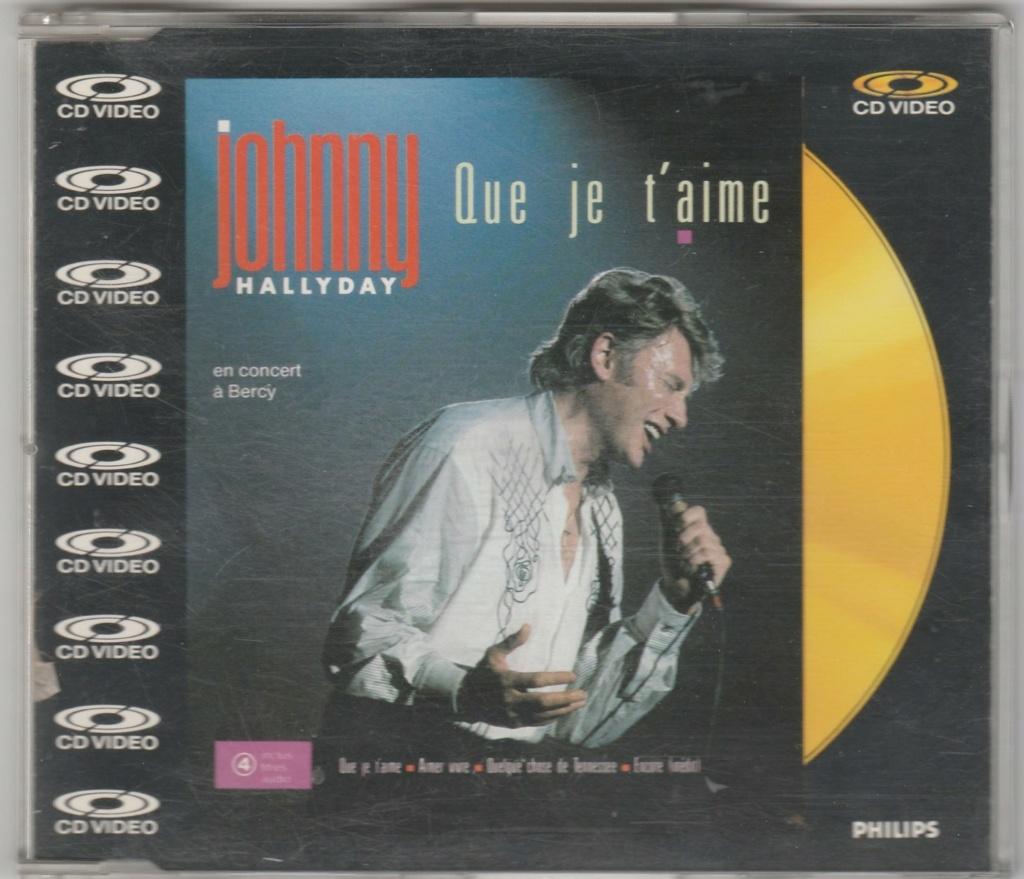 CD VIDEO JOHNNY HALLYDAY ( SERIE DE 5 )( 1985 - 1988 ) 1988_q10