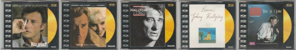 CD VIDEO JOHNNY HALLYDAY ( SERIE DE 5 )( 1985 - 1988 ) 198910