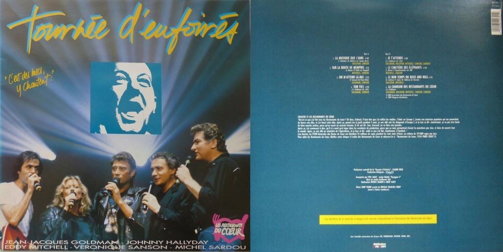 LES CONCERTS DE JOHNNY 'TOURNEE D'ENFOIRES, ZENITH 1989' 1989_537