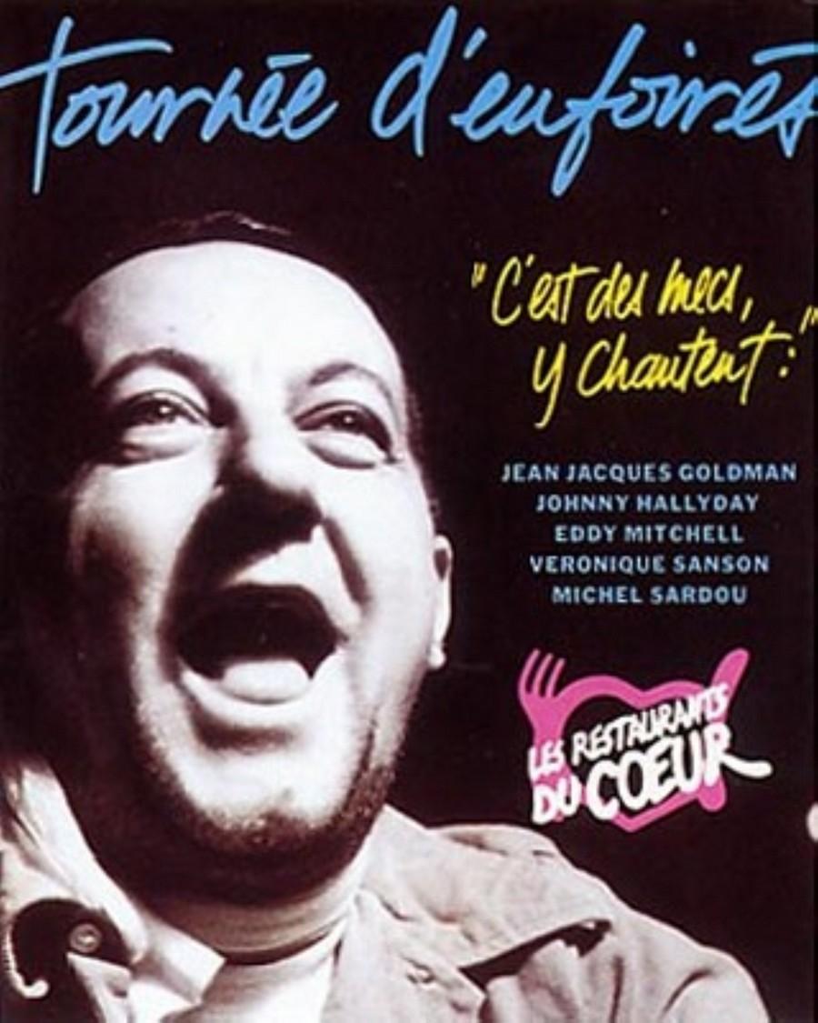 LES CONCERTS DE JOHNNY 'TOURNEE D'ENFOIRES, ZENITH 1989' 1989_e10