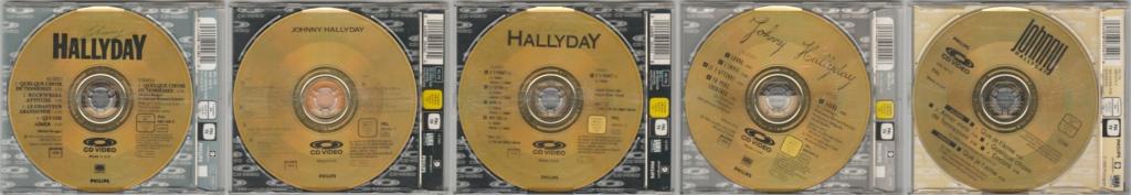 CD VIDEO JOHNNY HALLYDAY ( SERIE DE 5 )( 1985 - 1988 ) 199011