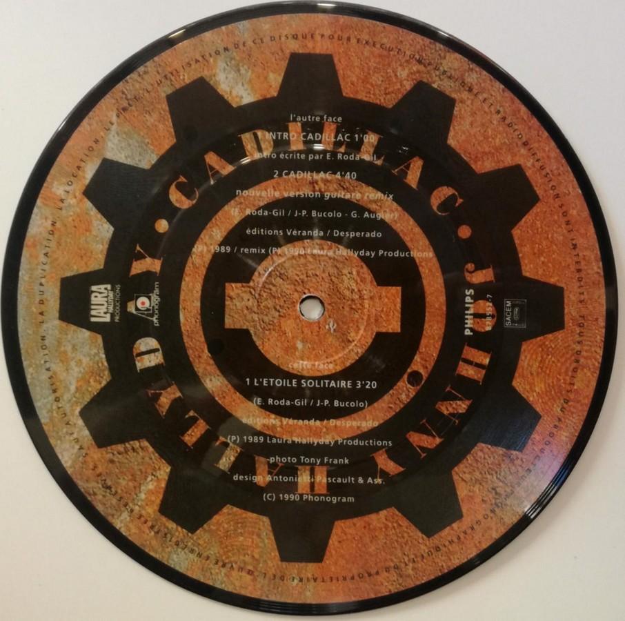 Picture disc officiel ( Universal Music )( Première partie ) 1990_817